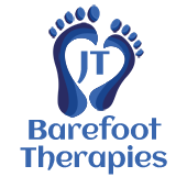 JT Barefoot Therapies | Reflexology | Hot Stones | Indian Head Massage Logo